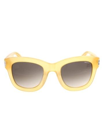 Bally Dameszonnebril geel/bruin