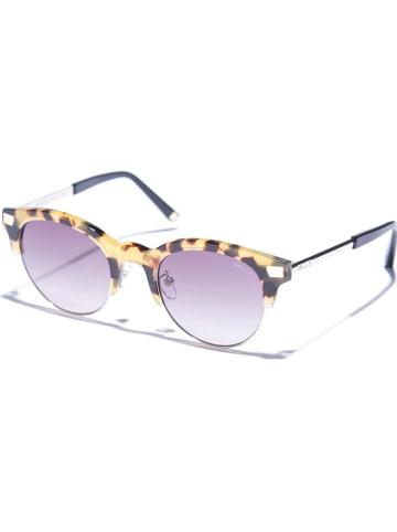 Bally Damen-Sonnenbrille in Schwarz-Braun/ Grau