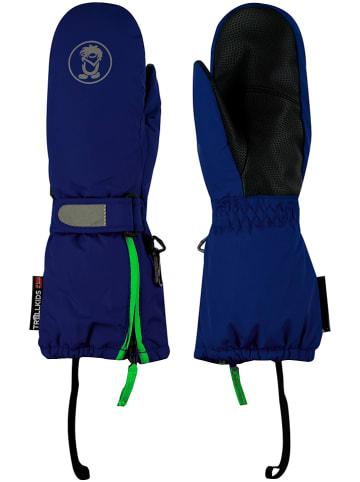 Trollkids Rękawice funkcyjne w kolorze granatowo-zielonym