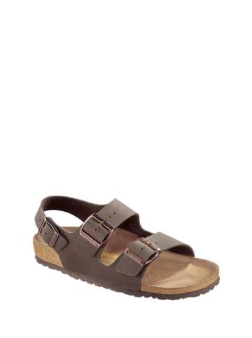 Birkenstock Sandały w kolorze brązowym