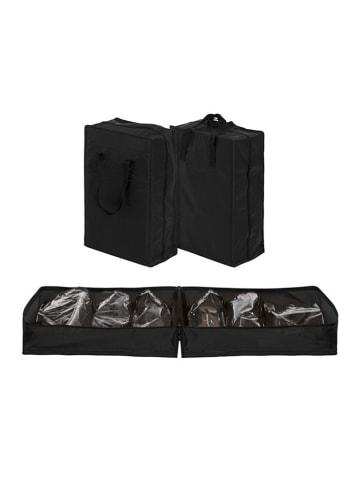 InnovaGoods Torba podróżna w kolorze czarnym na obuwie - (S)35 x (W)50 x (G)20 cm