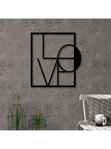 "Evila Wanddekor ""Love"" - (B)40 x (H)40 cm"