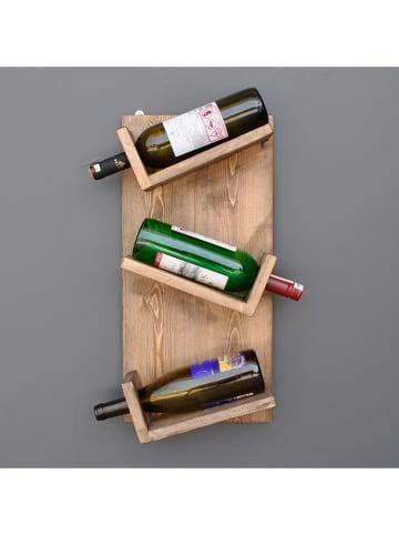 """Evila Regał """"Aa048"""" w kolorze brązowym na wino - 30 x 55 x 11 cm"""