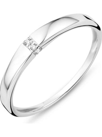 Revoni Weißgold-Ring mit Diamanten