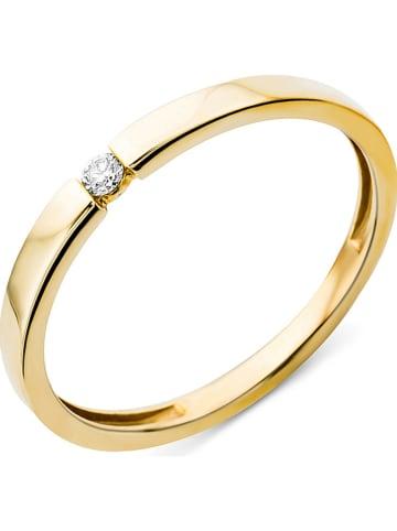Diamant Exquis Gouden ring met diamant