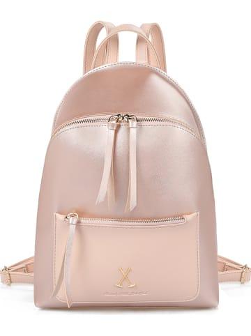 Beverly Hills Polo Club Plecak w kolorze różowozłotym - 36 x 27 x 11 cm