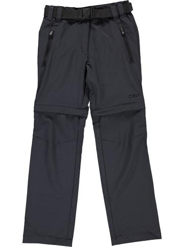 CMP Spodnie Zipp-Off w kolorze czarnym
