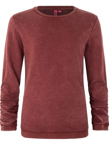 Million X Bluza w kolorze ciemnoczerwonym