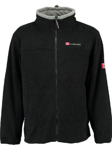 "Canadian Peak Fleece vest ""Ultona"" zwart"