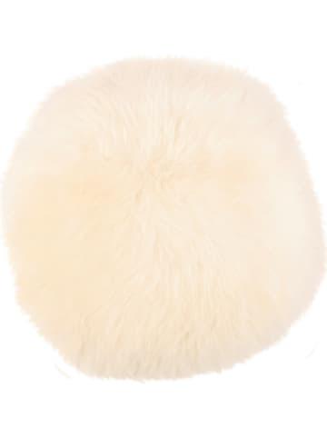 Kaiser Naturfellprodukte H&L Lammfell-Sitzauflage in Weiß
