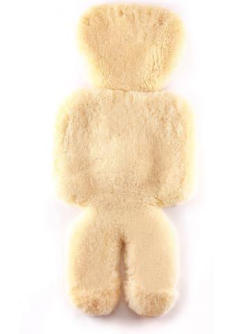 "Hofbrucker Lamsvacht voor babyzitje ""Mannetje"" naturel - (L)100 cm"