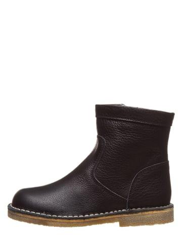 "Kmins Leder-Boots ""Cibella"" in Schwarz"