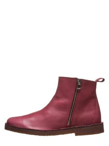 Kmins woman Leder-Boots in Bordeaux
