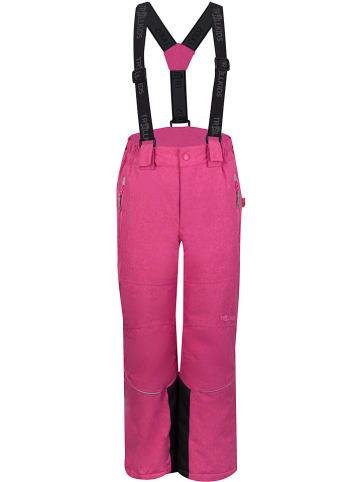 """Trollkids Spodnie narciarskie """"Norefjell"""" w kolorze różowym"""