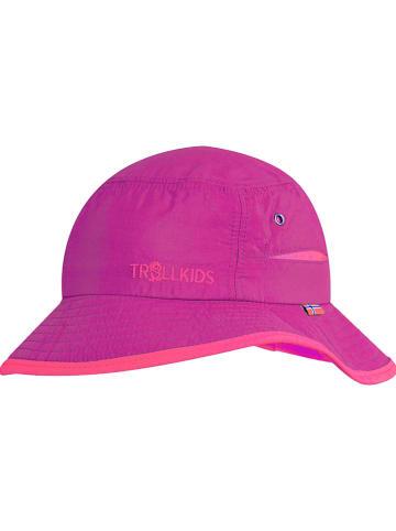 """Trollkids Kapelusz przeciwsłoneczny """"Trollford"""" w kolorze różowym"""