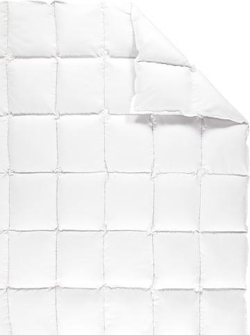 """Schäfer Daunen-Kassettenstegdecke """"Kanada - 100"""" in Weiß"""