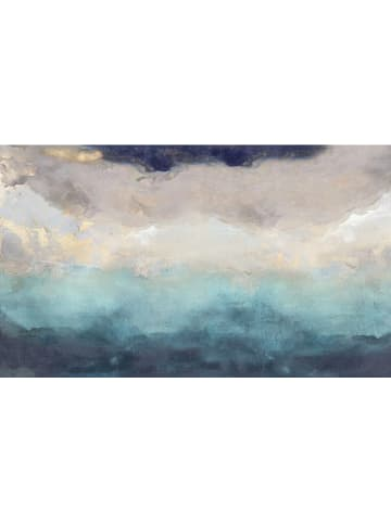 """Orangewallz Druk """"Abstract Blue 3"""" na płótnie - 118 x 70 cm"""