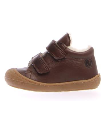 "Naturino Leder-Sneakers ""Coco"" in Braun"
