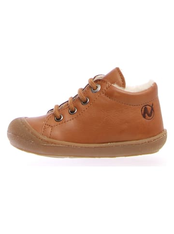 "Naturino Leren sneakers ""Coco"" lichtbruin"