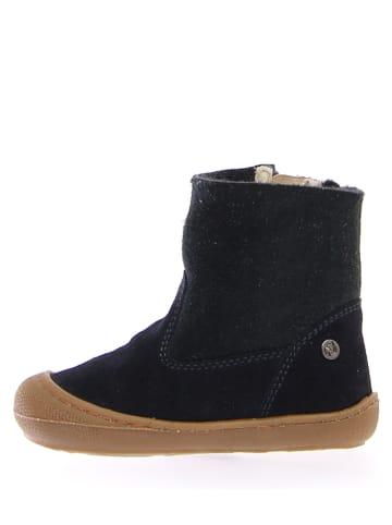 """Naturino Leren boots """"Cot"""" donkerblauw"""