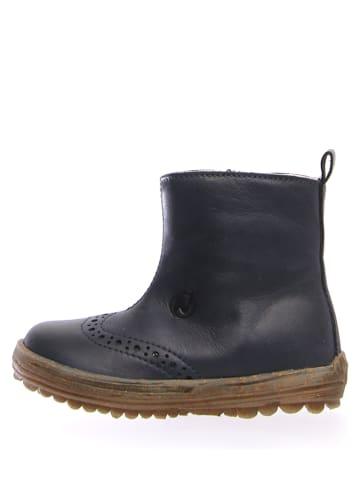 """Naturino Leren boots """"Dunes"""" donkerblauw"""