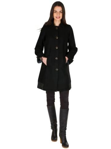 Aller Simplement Płaszcz w kolorze czarnym