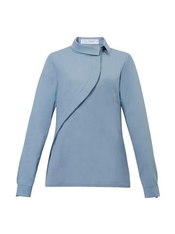 """Risk made in warsaw Koszula """"Skos"""" w kolorze jasnoniebieskiem"""