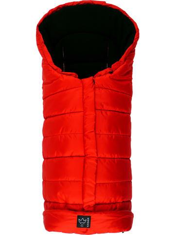 """Kaiser Naturfellprodukte Śpiworek termiczny """"Arctik"""" w kolorze czerwonym - 105 x 48 cm"""