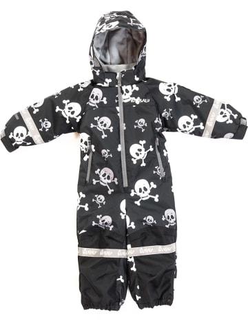 """HULABALU Kombinezon zimowy """"Skull"""" w kolorze czarnym"""