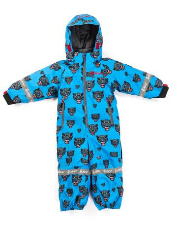 "HULABALU Kombinezon zimowy ""Panther"" w kolorze niebieskim"