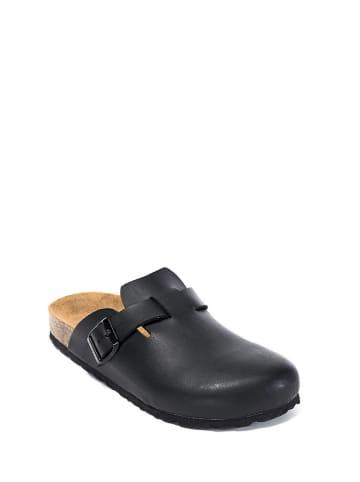 Mandel Clogs zwart