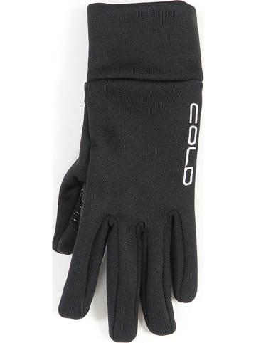 """COLD Rękawiczki """"I-Touch"""" w kolorze czarnym"""