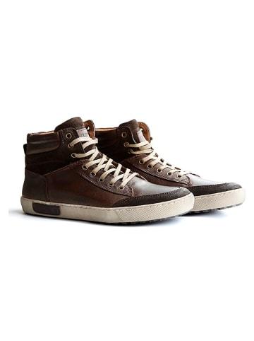 """TRAVELIN' Leren sneakers """"Aberdeen"""" bruin"""