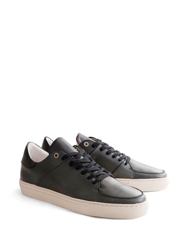 "DENBROECK Leder-Sneakers ""Jay St."" in Grau"