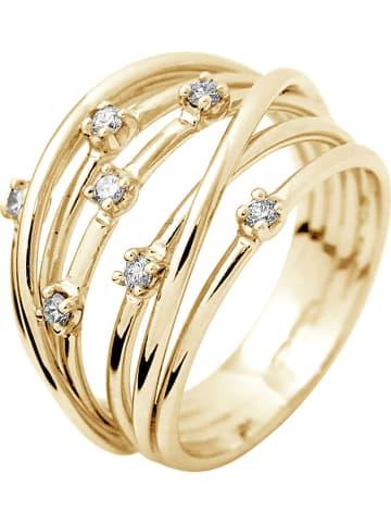 DYAMANT Gold-Ring mit Diamanten