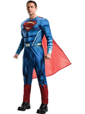 "Rubie`s Kostüm ""Superman Justice League"" in Blau"