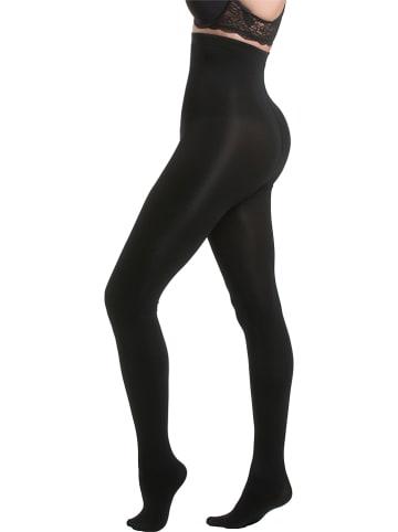 Magic Bodyfashion Rajstopy modelujące w kolorze czarnym