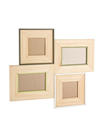 Bizzotto Fotolijst beige - (B)46,8 x (H)42 x (D)1,3 cm