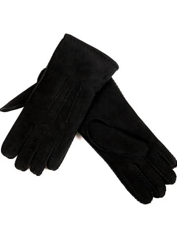 Kaiser Naturfellprodukte H&L Handschuhe in Schwarz