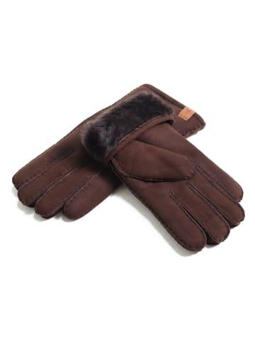 Kaiser Naturfellprodukte H&L Handschoenen bruin