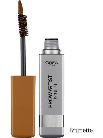 """L'Oréal Paris Augenbrauen-Mascara """"Brow Artist Sculpt - 02 Brunette"""", 6,5 g"""