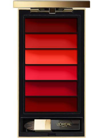 """L'Oréal Paris Lippenpalet """"Color Riche La Palette - Red"""", 6 g"""