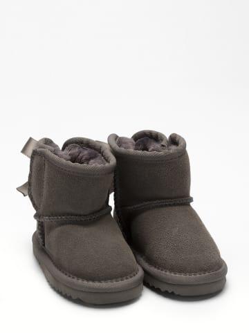 Lelli Kelly Leder-Boots in Grau