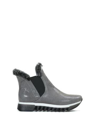 Zapato Leren chelseaboots grijs