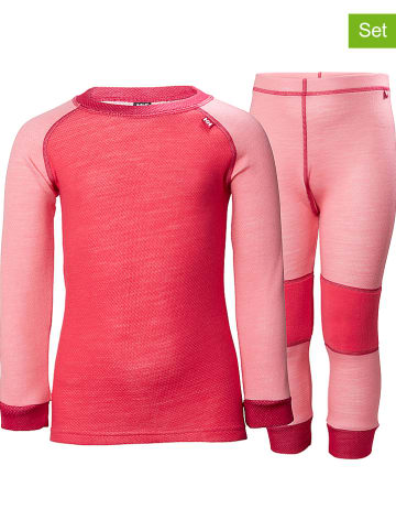 Helly Hansen 2-delige set: functioneel ondergoed roze