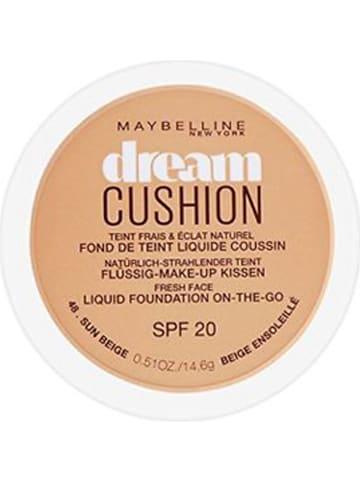 """Maybelline Foundation """"Dream Cushion - 48 Sun Beige"""" - LSF 20, 14,6 g"""