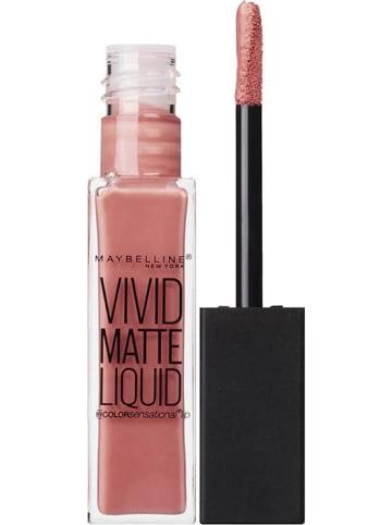"""Maybelline Lipgloss """"Vivid Matte Liquid - 05 Nude Flush"""" in Rosé, 8 ml"""