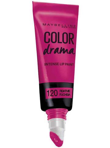"Maybelline Błyszczyk ""Color Drama Lip Paint - 120 Fight me Fuchsia"" - 6 ml"
