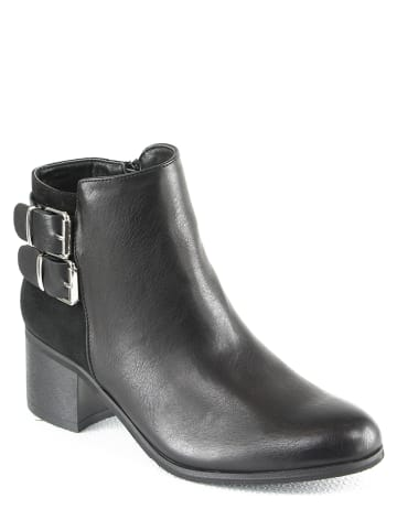 Sixth Sens Ankle-Boots in Schwarz