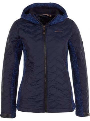 Peak Mountain Winterjas donkerblauw